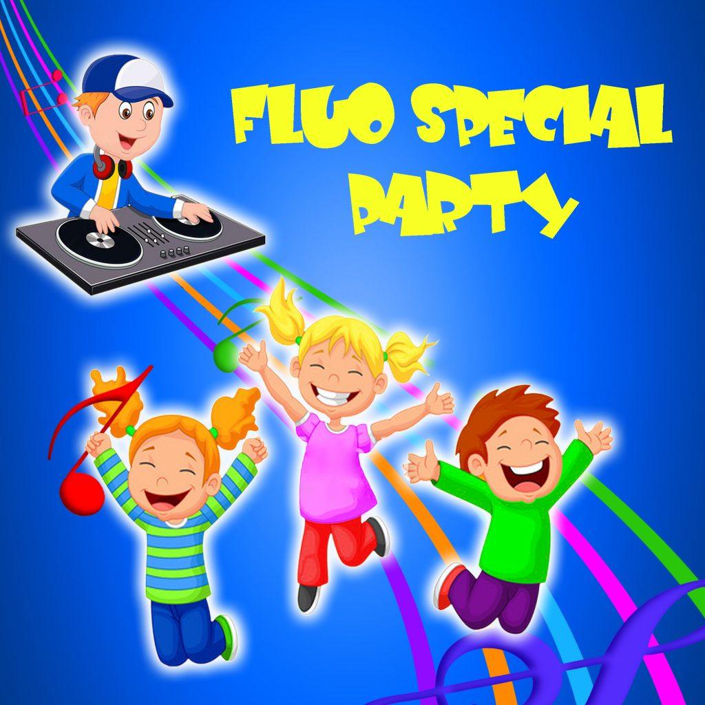 Fluo Party per bambini e adolescenti a Milano